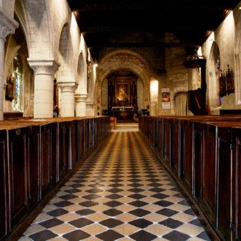 Cormeilles et l'église Sainte-Croix