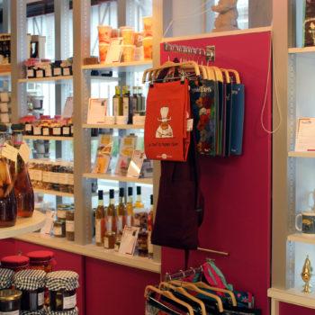 Les boutiques de l'Office de Tourisme Lieuvin Pays d'Auge