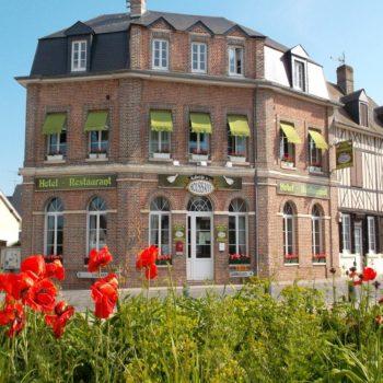 Restaurant Auberge de la houssaye extérieur - épaignes