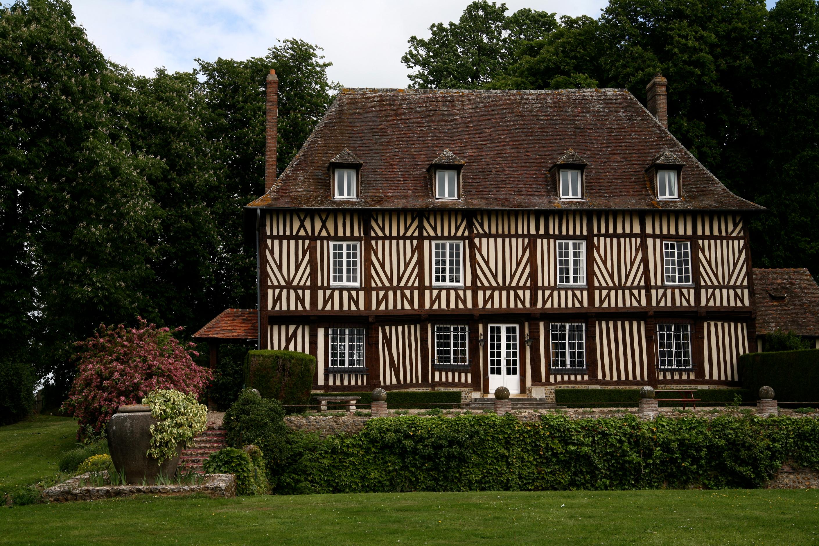 Maison En Bois Normandie le pays d'auge et les maisons à pans de bois - tourisme