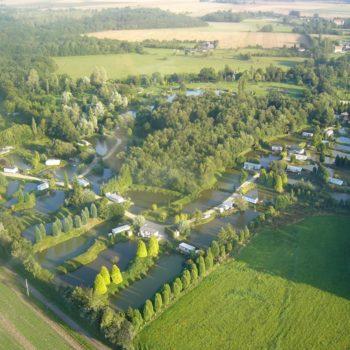 Camping résidentiel Les etangs du Bois Guillaume à Drucourt