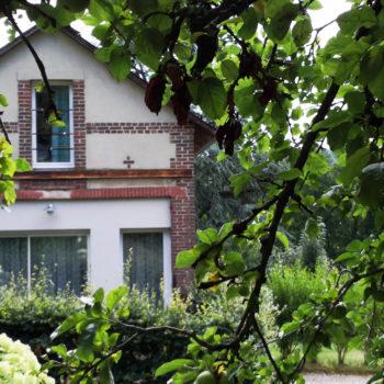 La Normandise à Saint Sylvestre de Cormeilles - vue extérieure