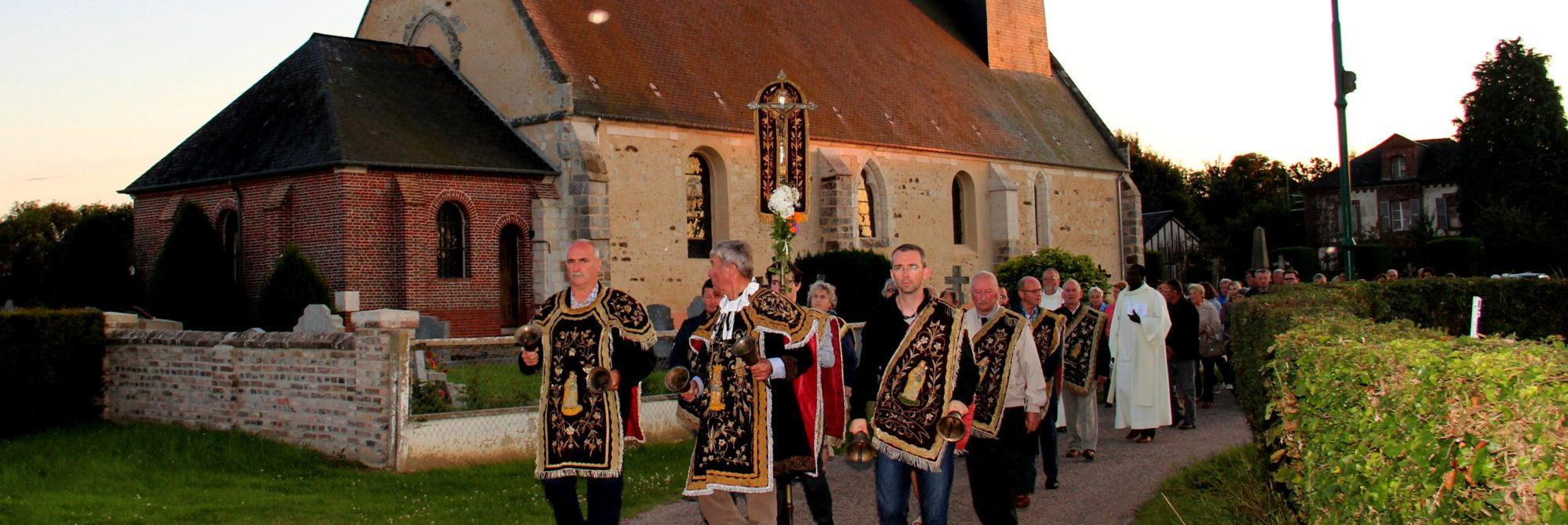 Les confréries de charité, une tradition perpétuée dans le Lieuvin Pays d'Auge C'est dans l'ouest de l'Eure, au cœur de la Normandie, que les 1