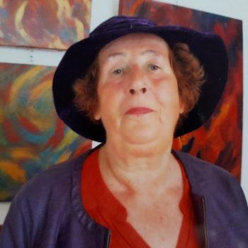 Artiste peintre Catherine de Hennezel à Saint-Georges-du-Vièvre