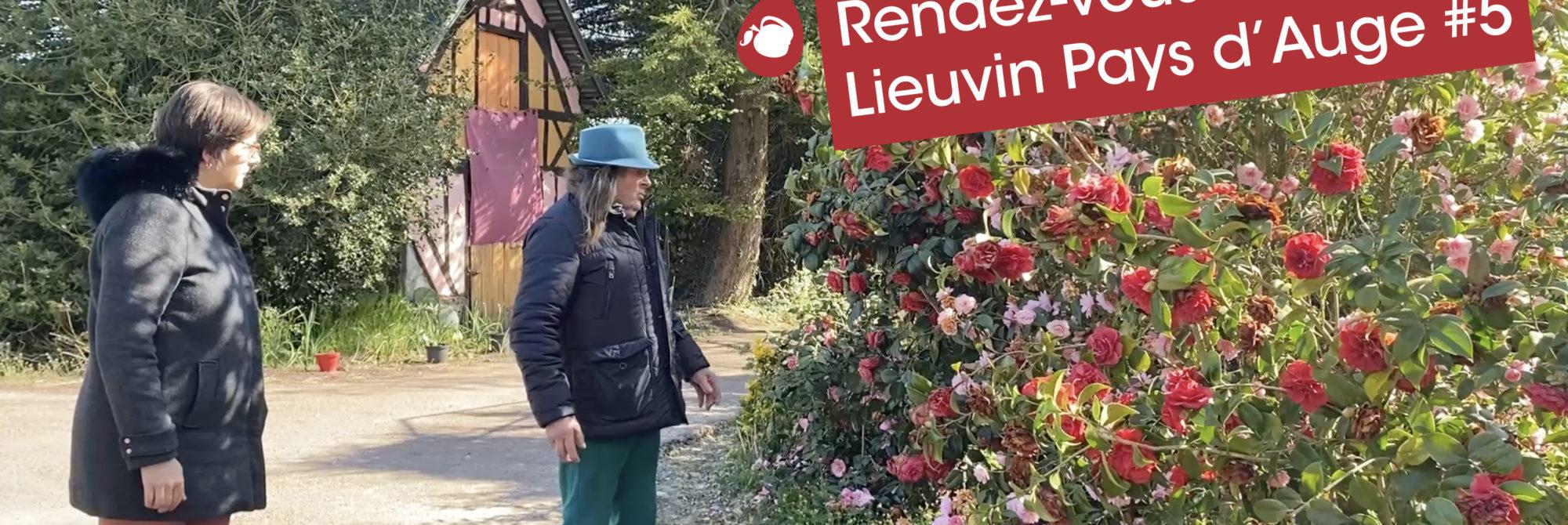 """Rendez-vous en Lieuvin Pays d'Auge #5 : Découverte du jardin """"Le Philadelphus"""" à Giverville  1"""