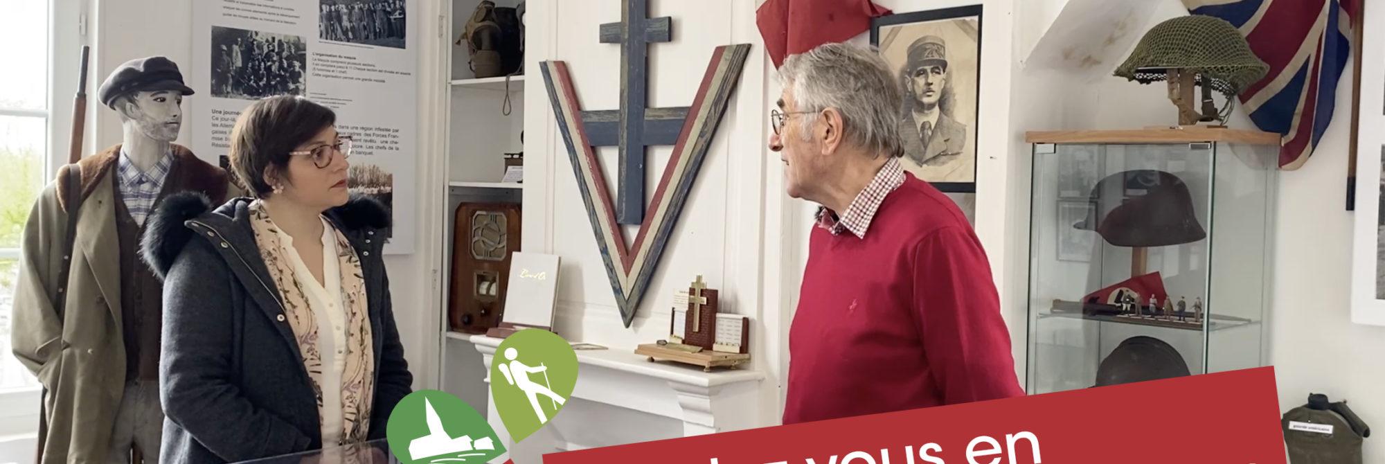 Rendez-vous en Lieuvin Pays d'Auge #9 : Découverte du maquis Surcouf à Saint-Etienne l'Allier   [/video] 1